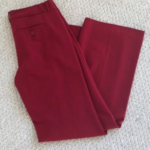NYCO red dress pants